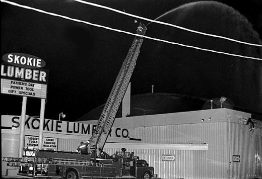 Skokie lumbar Fire 1977