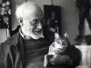 Matisse Smiling at Cat