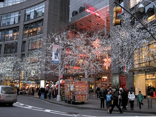 Columbus Circle, Christmas 2012