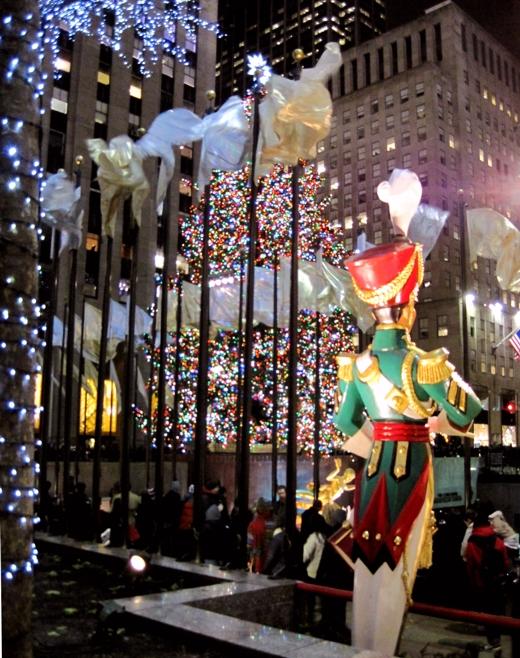 Rockefeller Center, Christmas 2012