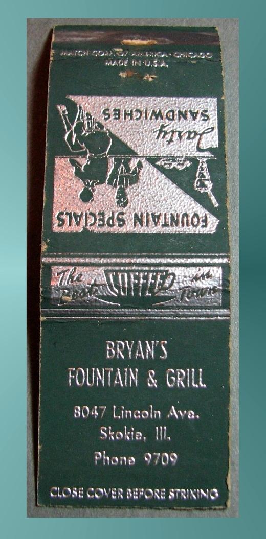 Bryan's Matchbook
