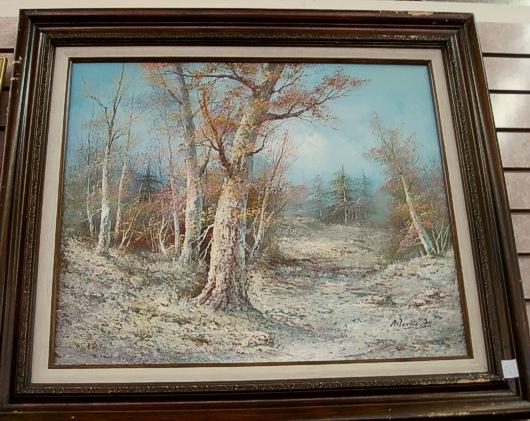 Amateur Oil Painting