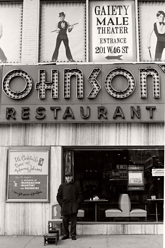 Times Square Howard Johnsons 1978