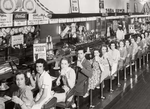 Lunch Counter State Street 1940
