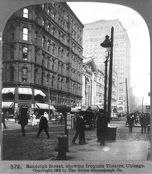 Randolph Street Iroquois 1905