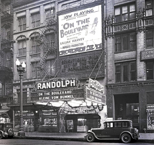 Randolph Theatre 14-16 W Randolph